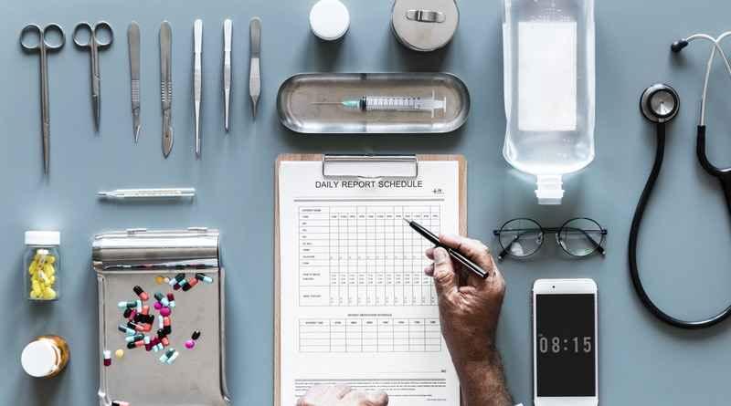 Медицина врач таблетки фонендоскоп
