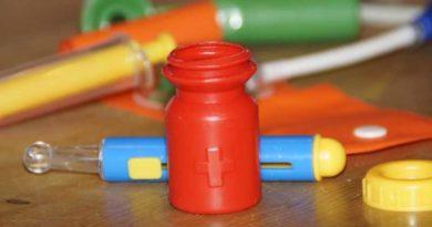 Детский игральный набор доктора